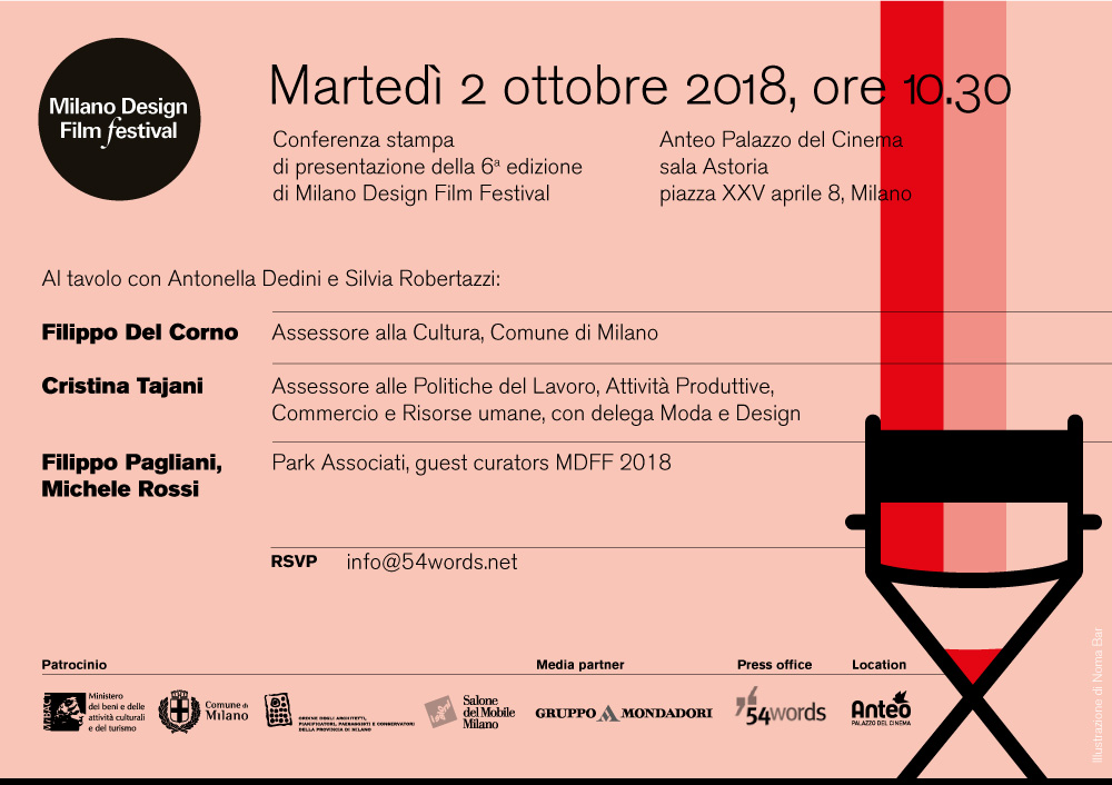 Milano Design Film Festival - Talk